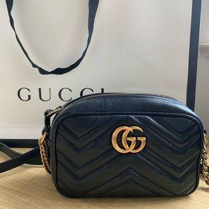 GG Marmont Matelessé mini bag